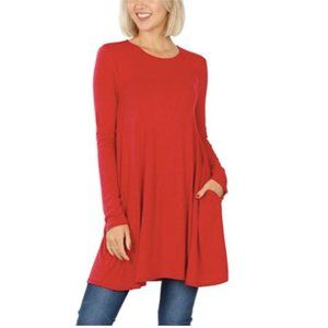Women's Valentine's Day Tops Ruby Tunic X-Large (1